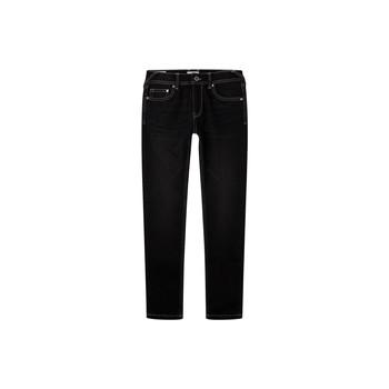 Vêtements Garçon Jeans skinny Pepe jeans FINLY Bleu Foncé