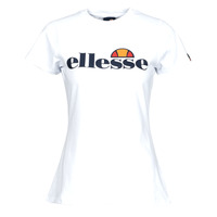 Vêtements Femme T-shirts manches courtes Ellesse HAYES SLIM Blanc
