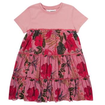 Vêtements Fille Robes courtes Desigual ZAFIRO Rose