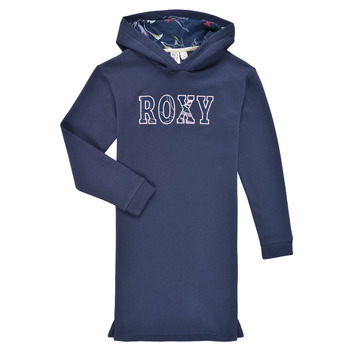 Vêtements Fille Robes courtes Roxy SING IT WITH ME Marine