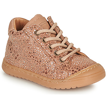 Chaussures Fille Boots Bisgaard THOR Rose / Doré