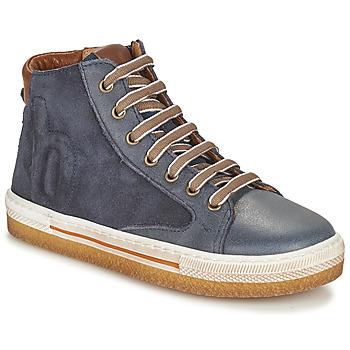 Chaussures Garçon Baskets montantes Bisgaard GEORG Marine