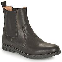 Chaussures Fille Boots Bisgaard NANNA Noir