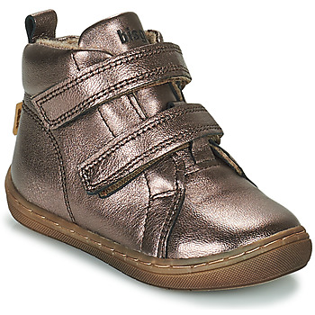 Chaussures Fille Baskets montantes Bisgaard DEE Argenté