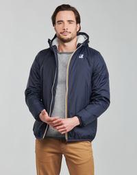 Vêtements Homme Blousons K-Way LE VRAI 3.0 CLAUDE ORSETTO Marine