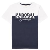 Vêtements Garçon T-shirts manches courtes Kaporal JILEY Blanc