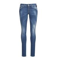 Vêtements Femme Jeans skinny Replay LUZIEN Bleu fonce