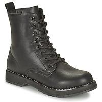 Chaussures Femme Boots Café Noir ETELA Noir