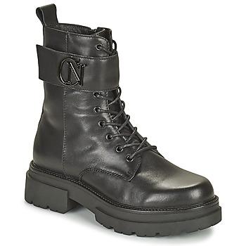 Chaussures Femme Boots Café Noir KINNEA Noir