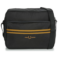 Sacs Homme Besaces Fred Perry TWIN TIPPED SHOULDER BAG Noir