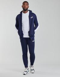 Vêtements Homme Ensembles de survêtement Puma SWEAT SUIT Noir / Blanc