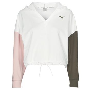 Vêtements Femme Sweats Puma MODERN SPORT HOODIE Blanc / Multicolore