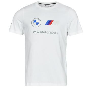 Vêtements Homme T-shirts manches courtes Puma BMW MMS ESS LOGO TEE Blanc