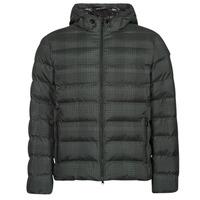 Vêtements Homme Doudounes Geox SANDFORD Noir / Khaki