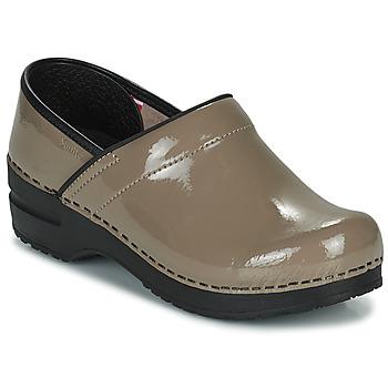 Chaussures Femme Sabots Sanita PROF Taupe