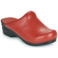 Chaussures Femme Chaussons Sanita SONJA Rouge