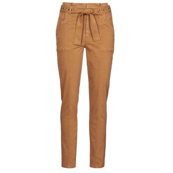 Vêtements Femme Pantalons 5 poches One Step FT22111 Beige