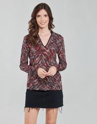 Vêtements Femme Tops / Blouses One Step FT10191 Rouge / Multicolore