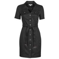 Vêtements Femme Robes courtes Morgan RVANYA Noir