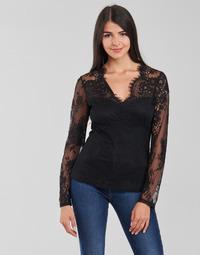 Vêtements Femme Tops / Blouses Morgan TEMMA Noir