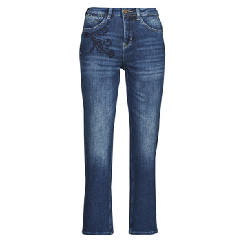 Vêtements Femme Jeans droit Freeman T.Porter MONIKA SDM Bleu