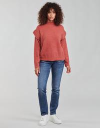 Vêtements Femme Jeans droit Freeman T.Porter ALEXA STRAIGHT SDM Bleu fonce