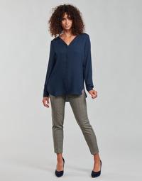 Vêtements Femme Pantalons 5 poches Freeman T.Porter CLAUDIA PONGO Gris