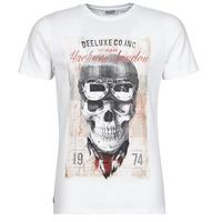 Vêtements Homme T-shirts manches courtes Deeluxe CLEM Blanc