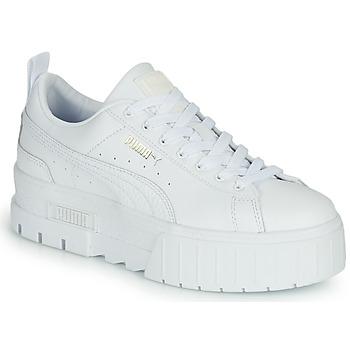 Chaussures Femme Baskets basses Puma MAYZE Blanc