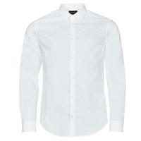 Vêtements Homme Chemises manches longues Emporio Armani 8N1C09 Blanc