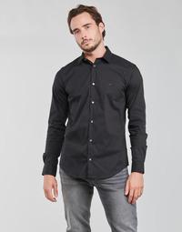 Vêtements Homme Chemises manches longues Emporio Armani 8N1C09 Marine
