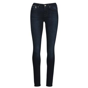 Vêtements Femme Jeans slim Only ONLISA Bleu foncé