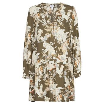 Vêtements Femme Robes courtes Vero Moda VMSAGA Kaki / Blanc