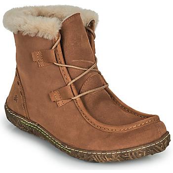 Chaussures Femme Boots El Naturalista NIDO ELLA Marron