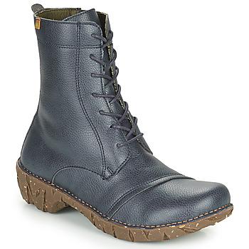 Chaussures Femme Boots El Naturalista YGGDRASIL Marine