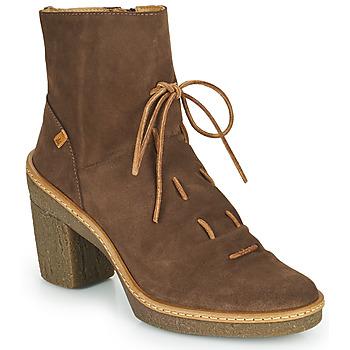 Chaussures Femme Bottines El Naturalista HAYA Marron