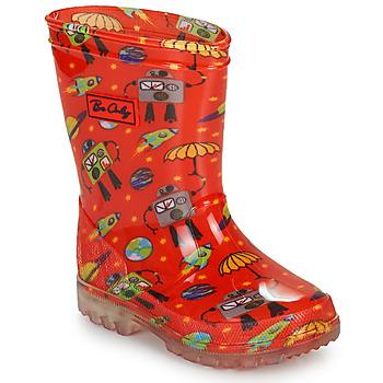 Chaussures Garçon Bottes de pluie Be Only CYBORG Rouge
