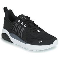 Chaussures Garçon Baskets basses Puma ANZARUN JR Noir / Blanc