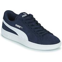 Chaussures Enfant Baskets basses Puma SMASH JR Bleu