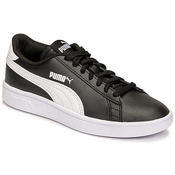 Chaussures Enfant Baskets basses Puma SMASH JR Noir