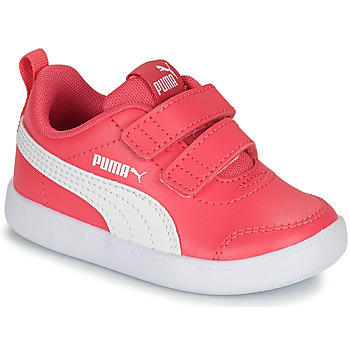 Chaussures Fille Baskets basses Puma COURTFLEX INF Rose