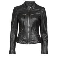 Vêtements Femme Vestes en cuir / synthétiques Oakwood HILLS6 Noir