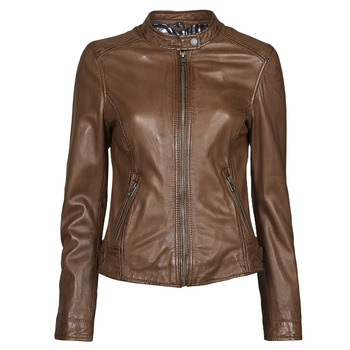 Vêtements Femme Vestes en cuir / synthétiques Oakwood KARINE Marron