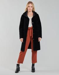 Vêtements Femme Manteaux Oakwood ANGELIQUE Noir