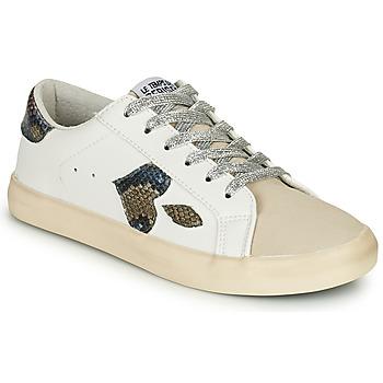 Chaussures Femme Baskets basses Le Temps des Cerises AUSTIN Blanc