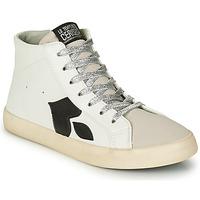 Chaussures Femme Baskets montantes Le Temps des Cerises AUSTIN Blanc