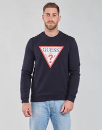 Vêtements Homme Sweats Guess AUDLEY CN FLEECE Marine
