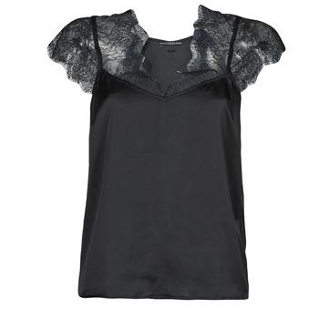 Vêtements Femme Tops / Blouses Guess SS MIRANDA TOP Noir