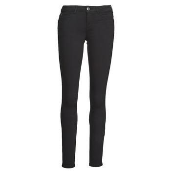 Vêtements Femme Pantalons 5 poches Guess CURVE X Noir