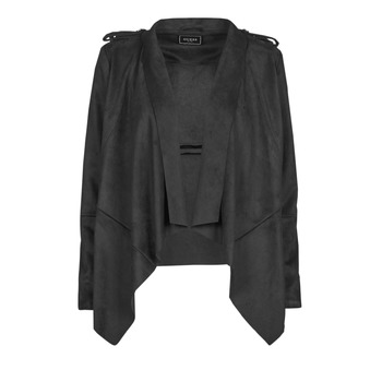 Vêtements Femme Vestes en cuir / synthétiques Guess SOFIA JACKET Noir